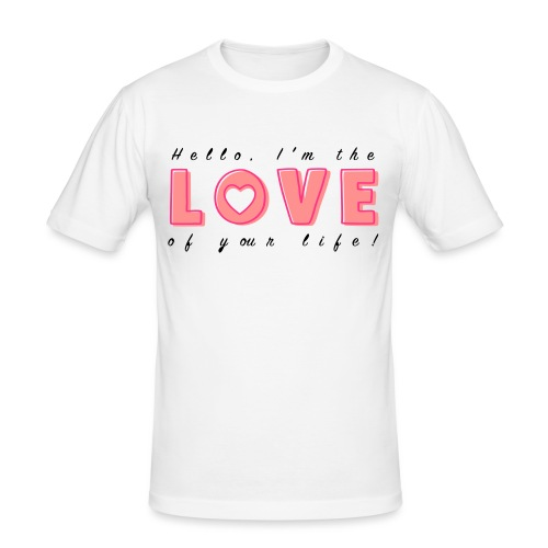 LoveofyourLifeC - Men's Slim Fit T-Shirt