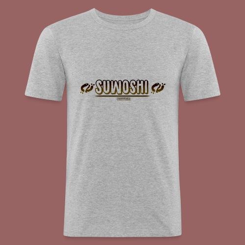 Suwoshi Streetwear - Mannen slim fit T-shirt