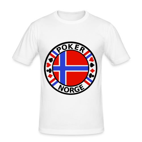 PoKeR NoRGe - Men's Slim Fit T-Shirt