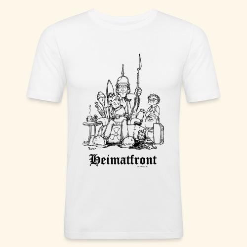 Heimatfront Mama Heimat Waffen Sohn Muttersöhnchen - Männer Slim Fit T-Shirt