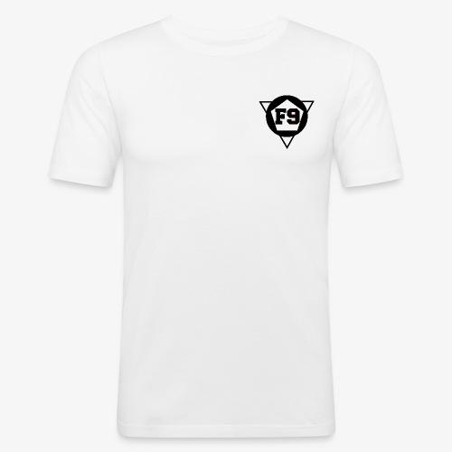 False 9 official logo png - Men's Slim Fit T-Shirt