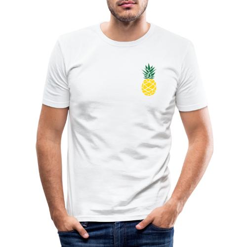 Pineapple - Mannen slim fit T-shirt