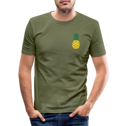Pineapple - Mannen slim fit T-shirt