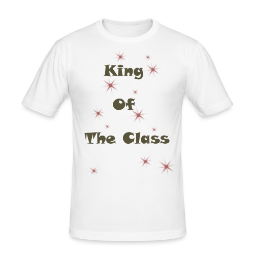 king of the class - T-shirt près du corps Homme