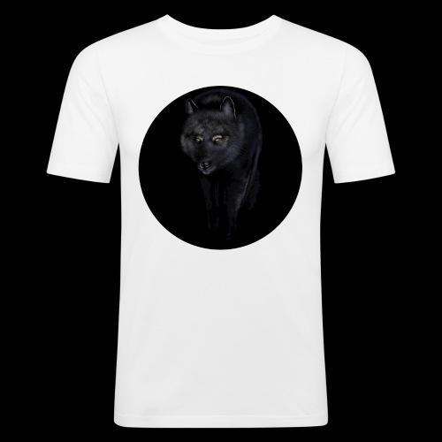Black Wolf - Men's Slim Fit T-Shirt