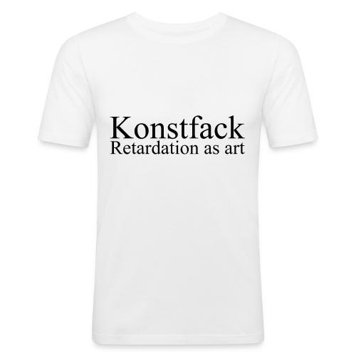 konstfack - Slim Fit T-shirt herr