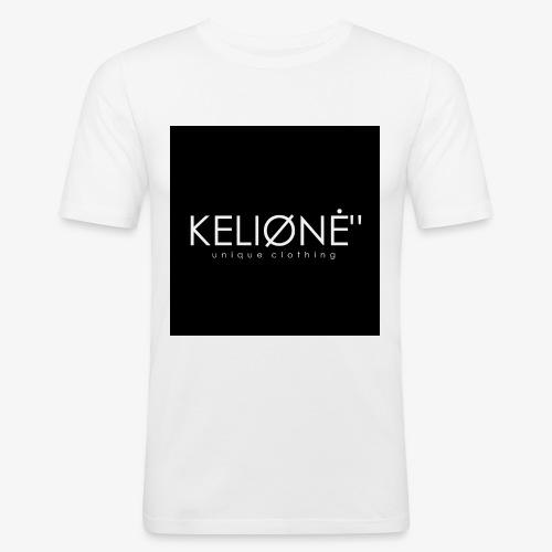 Black KELIØNĖ design - Men's Slim Fit T-Shirt