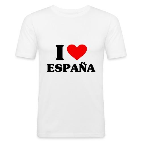 I love Espana - Männer Slim Fit T-Shirt