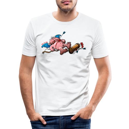 Who Killed Cupid? - Men's Slim Fit T-Shirt
