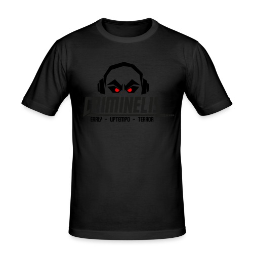 criminelis - Mannen slim fit T-shirt