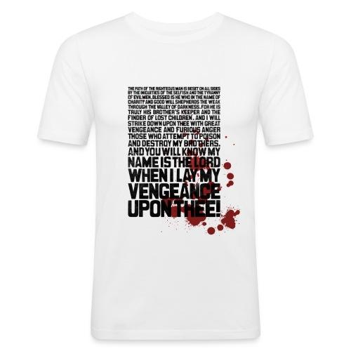 Bloody Ezekiel 25 17 - Men's Slim Fit T-Shirt