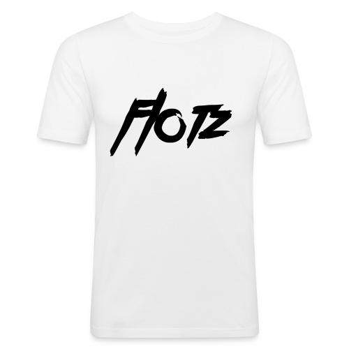flotz2 000000 - Männer Slim Fit T-Shirt