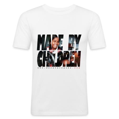 motif tshirtdcata2couleur - T-shirt près du corps Homme