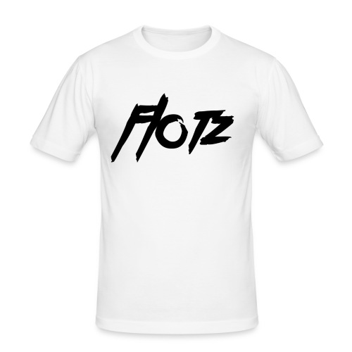flotz2 000000 - Männer Slim Fit T-Shirt