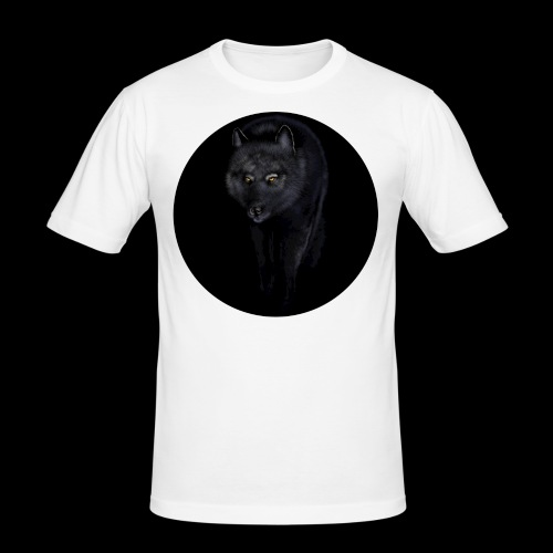 Black Wolf - Men's Slim Fit T-Shirt