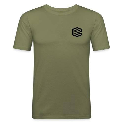 loggasvart - Slim Fit T-shirt herr