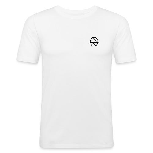 Logo - Chest - Men's Slim Fit T-Shirt