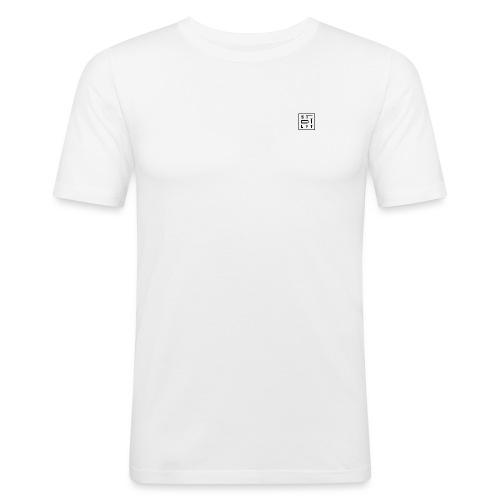 STDTLFT White - Männer Slim Fit T-Shirt