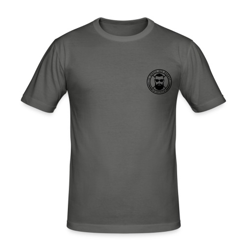 Logo officiel noir - T-shirt près du corps Homme