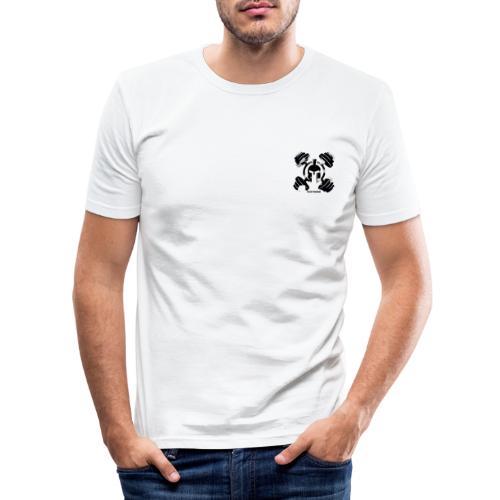 ITALIANWARRIORS90cross - Maglietta aderente da uomo