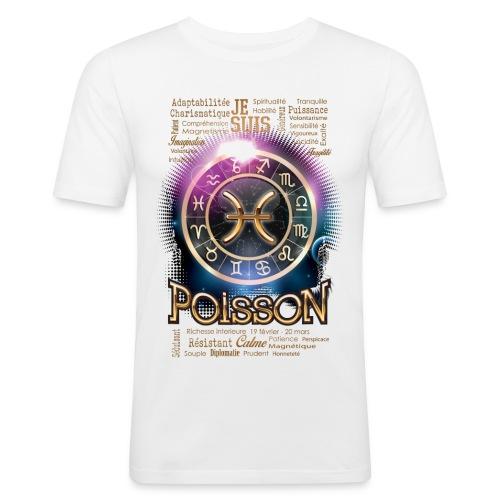 POISSONS - T-shirt près du corps Homme