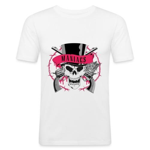 GunsnRoses png - Männer Slim Fit T-Shirt