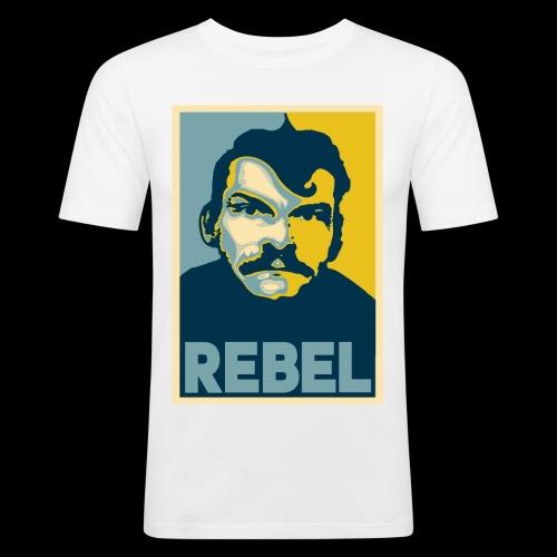 Rebel - Slim Fit T-shirt herr