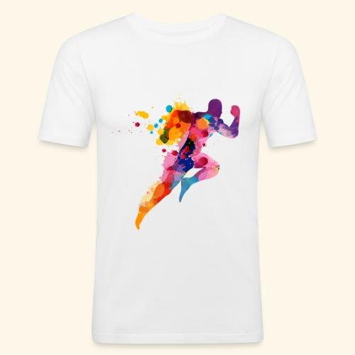 Running colores - Camiseta ajustada hombre