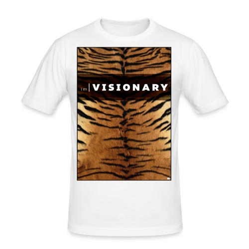 PRTCTANIMAL - Tiger | Im visionary - Men's Slim Fit T-Shirt
