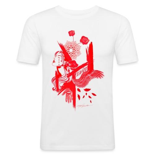 red fenix - Maglietta aderente da uomo
