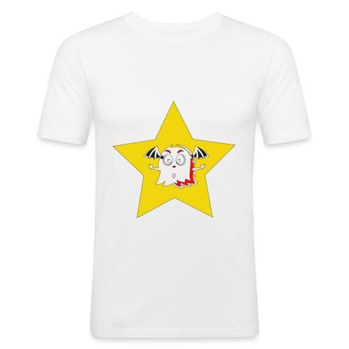 spooky in star - Mannen slim fit T-shirt