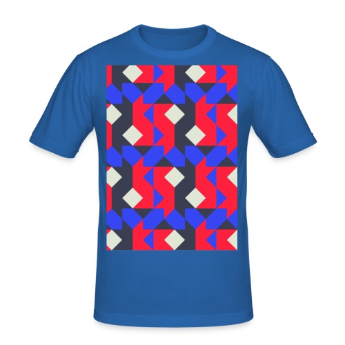 Abstact T-Shirt #1 - Men's Slim Fit T-Shirt