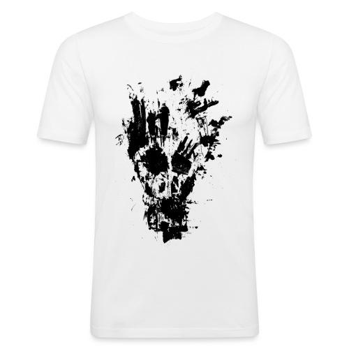 FANCY SKULL - Men's Slim Fit T-Shirt