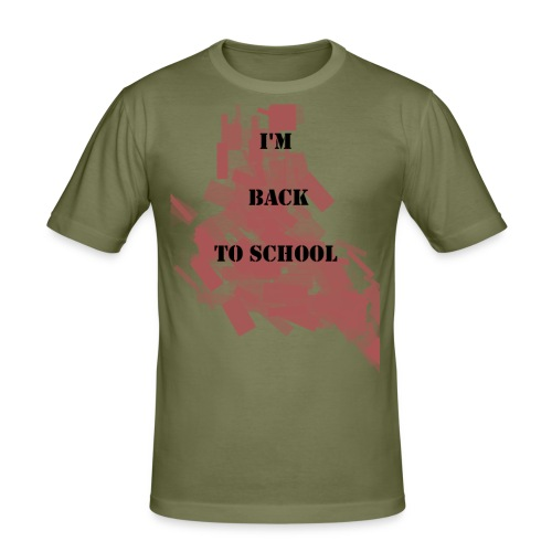 Back To School - T-shirt près du corps Homme