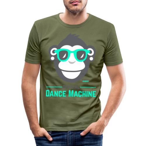 Official Dance Machine - Männer Slim Fit T-Shirt