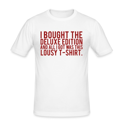 DELUXE EDITION. - Men's Slim Fit T-Shirt