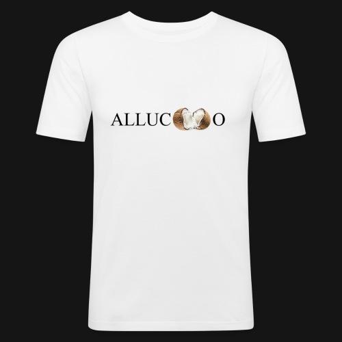 Allucoco blanco - Camiseta ajustada hombre