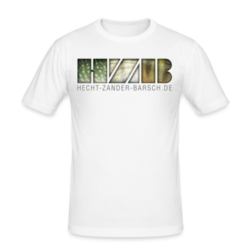 KLASSIK DARK - Männer Slim Fit T-Shirt