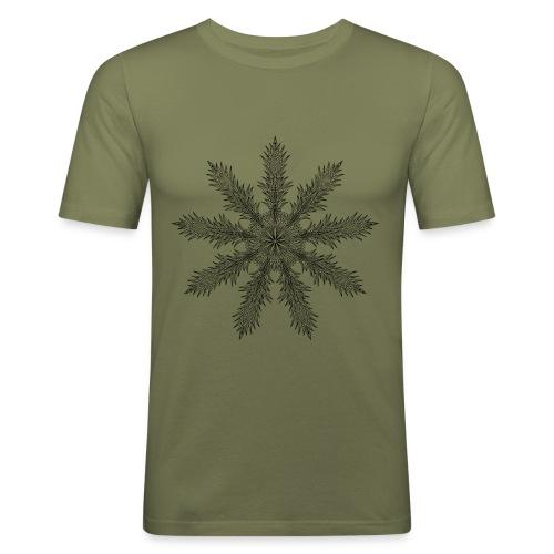 Magic Star Tribal #4 - Men's Slim Fit T-Shirt