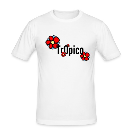 tr0pico - Mannen slim fit T-shirt