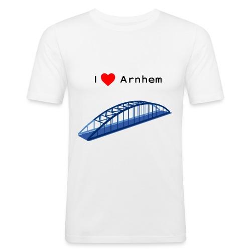 Arnhem, John Frostbrug - Mannen slim fit T-shirt