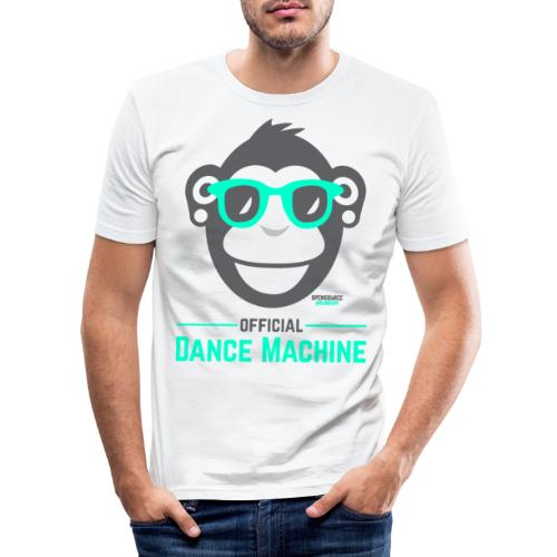 Official Dance Machine - Männer Slim Fit T-Shirt