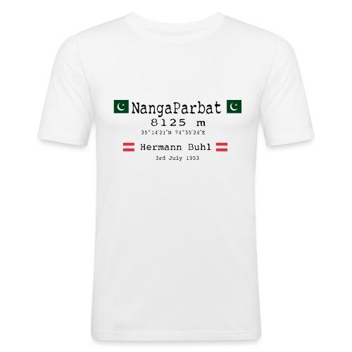 NangaPArbat20-01Black - Maglietta aderente da uomo