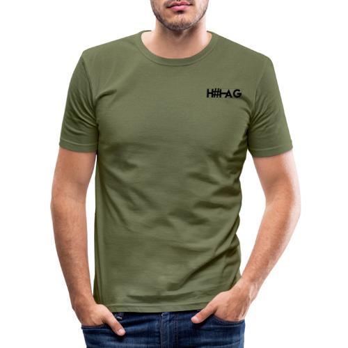 LOGO H#TAG - T-shirt près du corps Homme