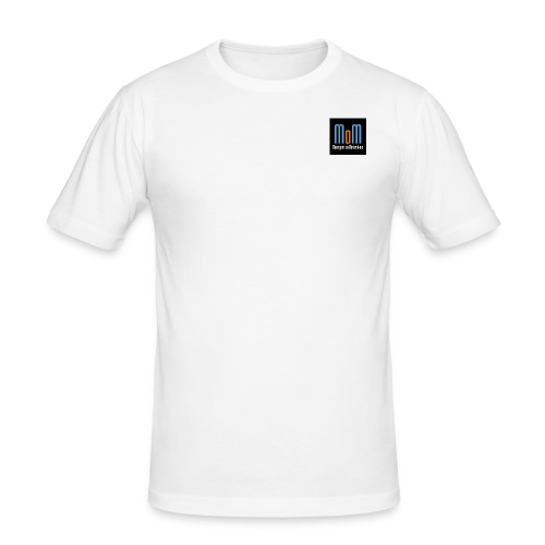 Managers on Motorbikes Logo - Männer Slim Fit T-Shirt
