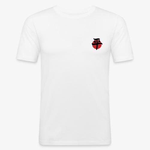 paz letra japonesa - Camiseta ajustada hombre