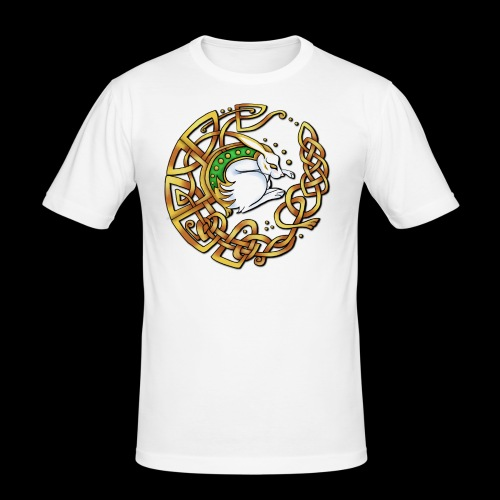 Celtic Hare - Men's Slim Fit T-Shirt