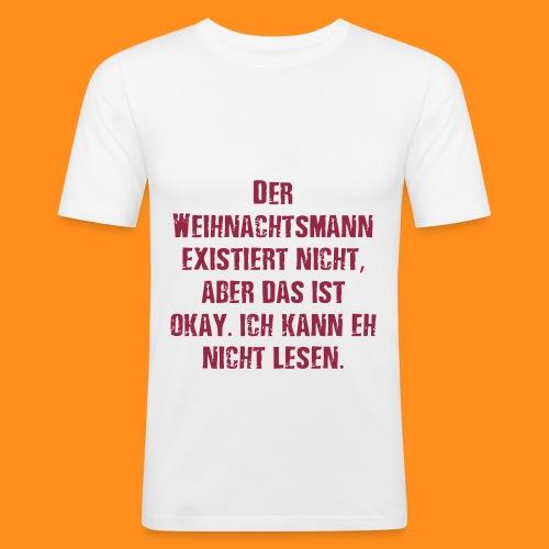 weihnachtsamann - Männer Slim Fit T-Shirt