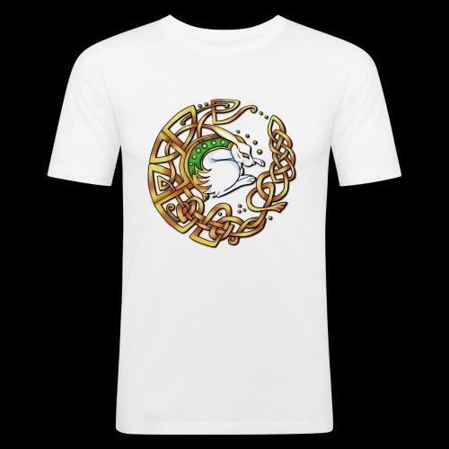 Celtic Hare - Men's Slim Fit T-Shirt