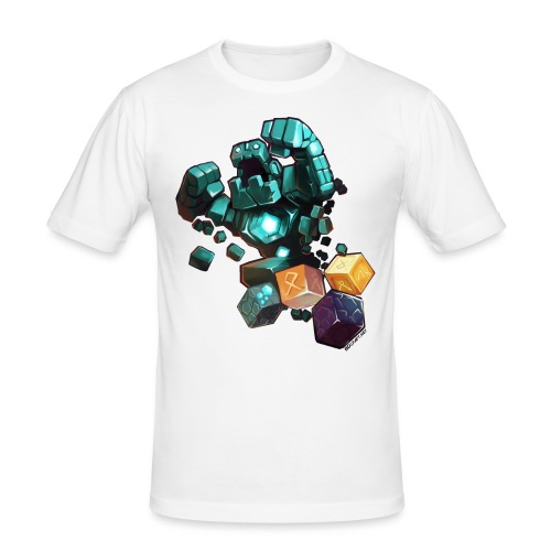 BDcraft Golem - Men's Slim Fit T-Shirt